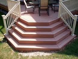 Corner Deck Stairs Design Composite Deck Composite Deck Steps Steps Pinterest Deck