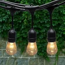 heavy duty outdoor string lights generalman 48ft waterproof outdoor string lights heavy duty