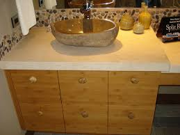 stone bathroom sinks rustic silver stone vessel sink natural