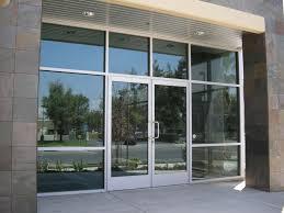 All Glass Exterior Doors Storefront Glass Door Repair Manchester Lock Security