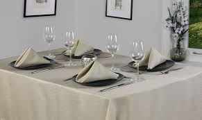 Oblong Table Cloth Premier 52 X 90 Inch Linen Look Oblong Tablecloth White Amazon