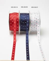 3 8 inch ribbon 3 8 inch grosgrain ribbon w anchors may arts wholesale