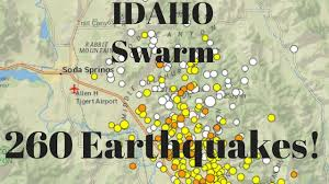 Usgs Real Time Earthquake Map Big Quake Swarm Usgs Says 260 Earthquakes Have Struck Southeast