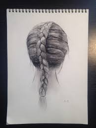 dutch braid drawing uploaded by anna gedevani