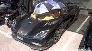 car koenigsegg agera r this koenigsegg agera r lost its roof due to the car are too