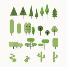 167 best tree images on vector illustrations doodles