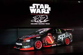 holden racing team debuts star wars the force awakens car