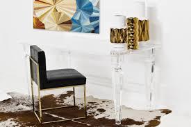 lucite desk accessories palm beach lucite desk modshop