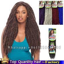 medium size packaged pre twisted hair for crochet braids 6 pack salon 2x havana mambo twist braiding hair crochet braid