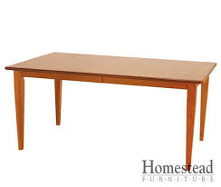 shaker style dining table valley shaker dining table homestead furniture