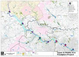 Map Of Yorkshire England by Strategic Waterways The Aire And Calder Valleys Yorkshire