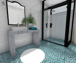 art deco flooring adorable french door style shower with big mirror and art deco