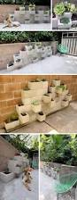 Cinder Block Decorating Ideas by How To Use Cement Blocks In Practical Outdoor Projects