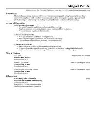 internship resume exles in superb accounting intern resume exles free career