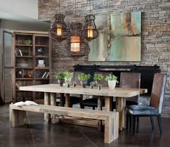 furniture elegant dining room design by iometro with rustic