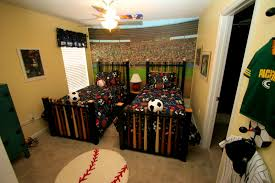 bedroom exciting images about sports themed kids room for lover