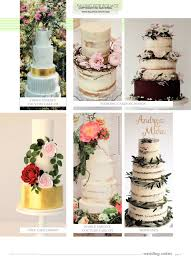 wedding cakes magazine spring 2017 squires kitchen shop