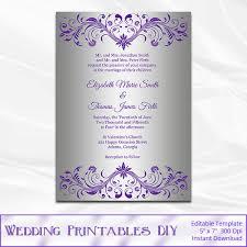 wordings free vintage wedding invitation templates in