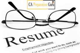 Prepare Resume How To Prepare Resume For Ca Articleship
