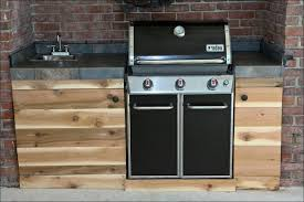 Weatherproof Outdoor Kitchen Cabinets - kitchen pre built outdoor kitchens brick outdoor kitchen