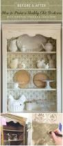 Shabby Chic Bookshelves by How To Paint A Shabby Chic Bookcase Furniture Stencils U0026 Chalk
