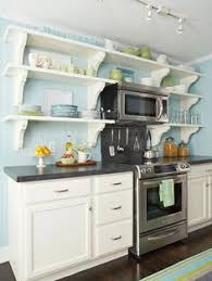 open kitchen cabinets perfect in home interior design with open