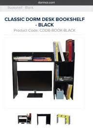 Dorm Desk Bookshelf Desk Shelving From Www Dormco Com I U0027d Get It In Black However
