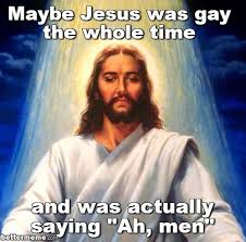 Meme Men - jesus ah men