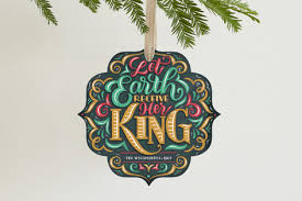 let earth receive king ornament cards minted