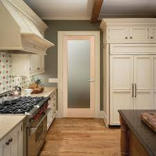 interior kitchen doors pinpoint glass interior door traditional kitchen sacramento