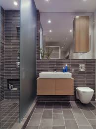 cute bathroom with large and long tiles for wider design bathroom