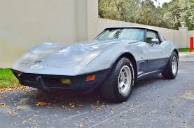 25th anniversary corvette value 1978 25th anniversary survivor v8 c3 coupe stingray for sale