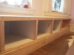 Build Corner Storage Bench Seat by Built In Seating Under Window Reno Inspiration Pinterest