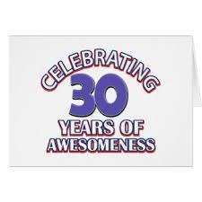 30 years old designs birthday cards u0026 invitations zazzle co nz