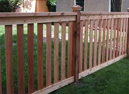 wood fences fence installation mn fence contractor