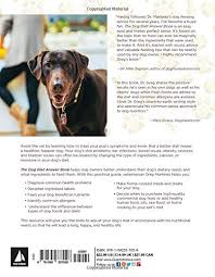 the dog diet answer book the complete nutrition guide to help