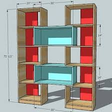ana white puzzle bookcase diy projects