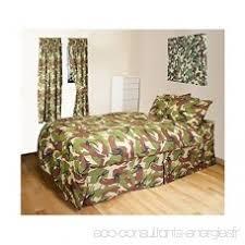 rideaux pour chambre d enfant enfants armée militaire camo camouflage housse de couette et