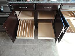 Kitchen Pull Out Cabinet by Kitchen Cabinets With Sliding Shelves Monsterlune