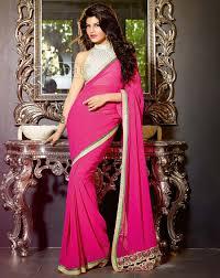 jaqueline fernandez in designer saree zeenat style