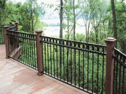 wrought iron deck railing and decor to give your 2017 images