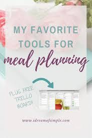 as 25 melhores ideias de meal plan templates no pinterest