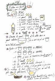 coloriage recette de cuisine la recette du gateau au yaourt arts culinaires magiques