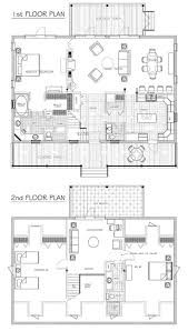 small cottage floor plan with loft top best house plans images on