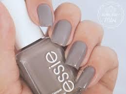 essie chinchilly sleek granite gray nail polish nail color