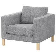 Cover For Chair Ikea Karlstad Cover For Chair Armchair Slipcover In Isunda Grey