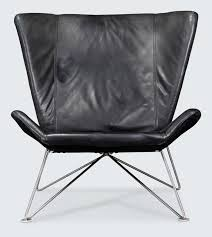 Black Leather Armchairs Modern Times Vintage Danish And European Design Furniture