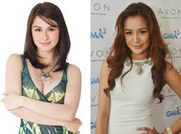 hair color for pinays marian rivera and kris bernal celebrity look a like pinterest