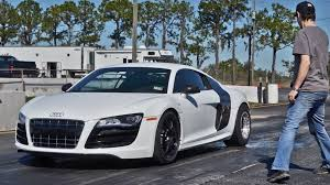 speedriven audi r8 v10 tt blasts 1 4 mile record quattroworld