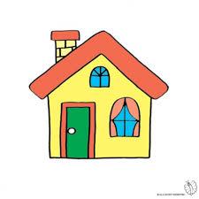 casa disegno disegno di casa con camino a colori per bambini